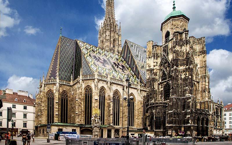 Austria - Vienna - St. Stephen's Cathedral 1