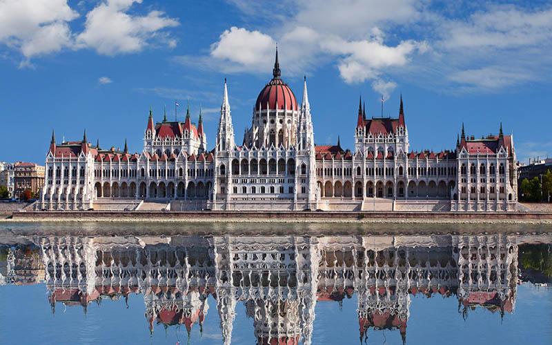 Hungary - Hungarian Parliament Building 1