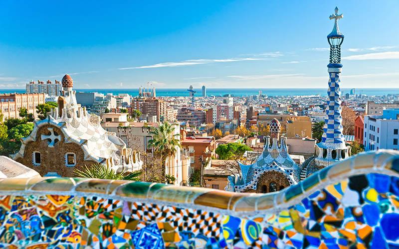 Spain - Barcelona - Park Guell 2