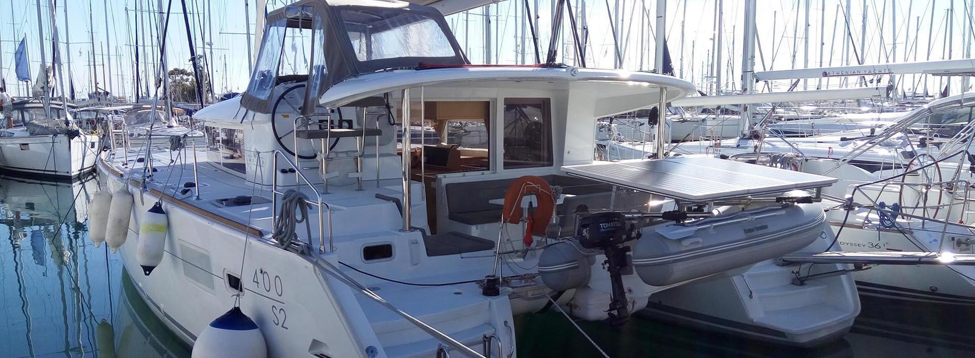 Lagoon 400 S2 - Royal Velvet 1 (main)