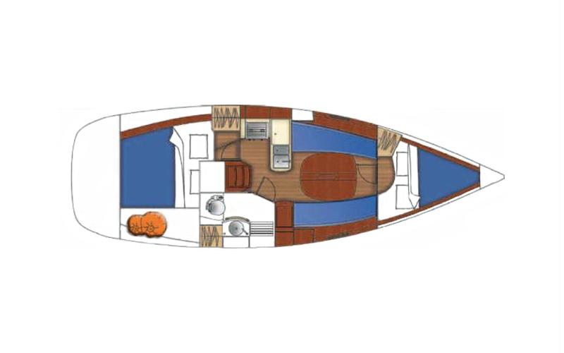 Beneteau Oceanis Clipper 323 - Lily 10