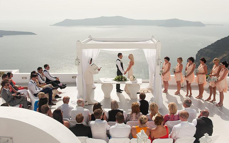 Greece - Santorini Weddings 5