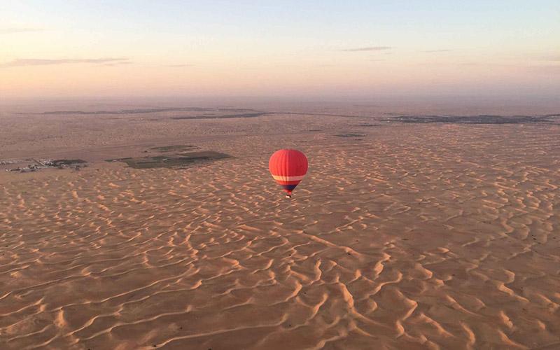Dubai - Balloon Flight 1
