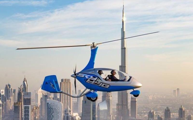 Dubai - Gyrocopter Flight 1