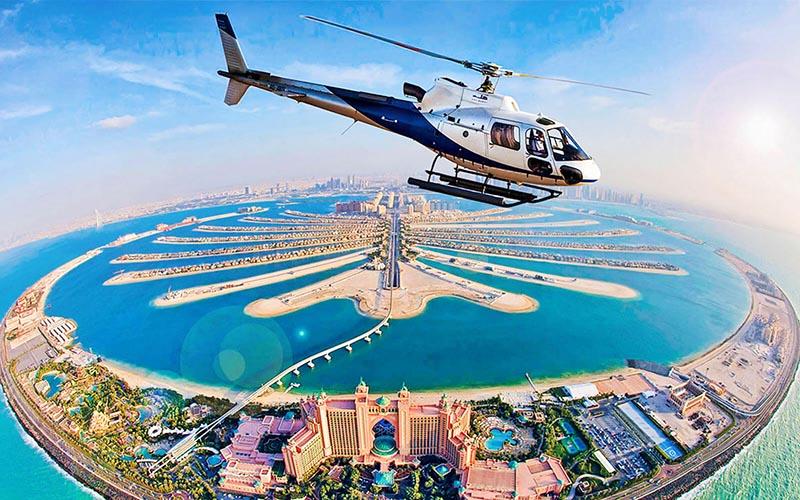 Dubai - Helicopter Ride 1