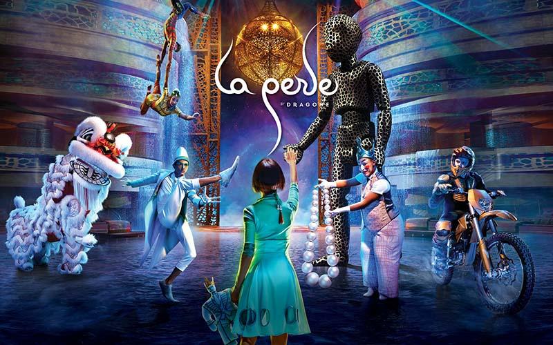 Dubai - La Perle Dragone Show 1