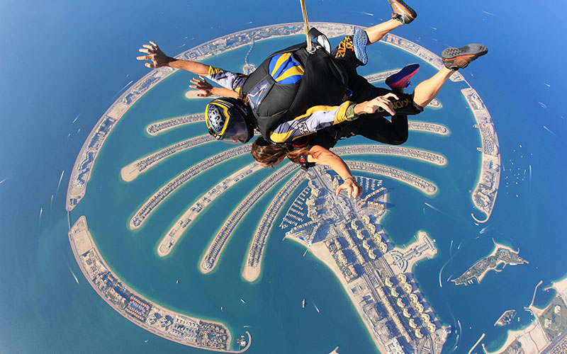 Dubai - Skydive 1