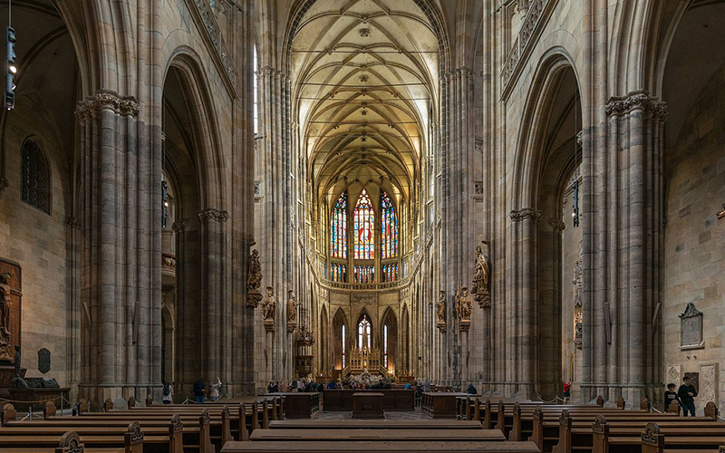 Czech Republic - St. Vitus Cathedral 2