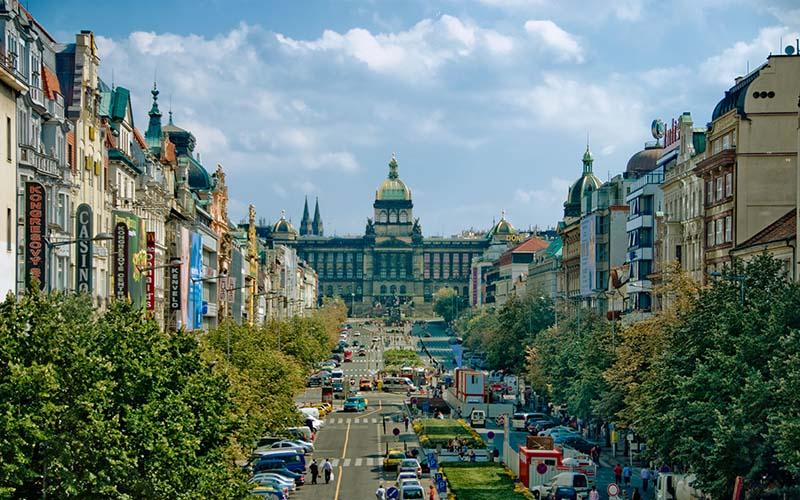 Czech Republic - Wenceslas Square 1