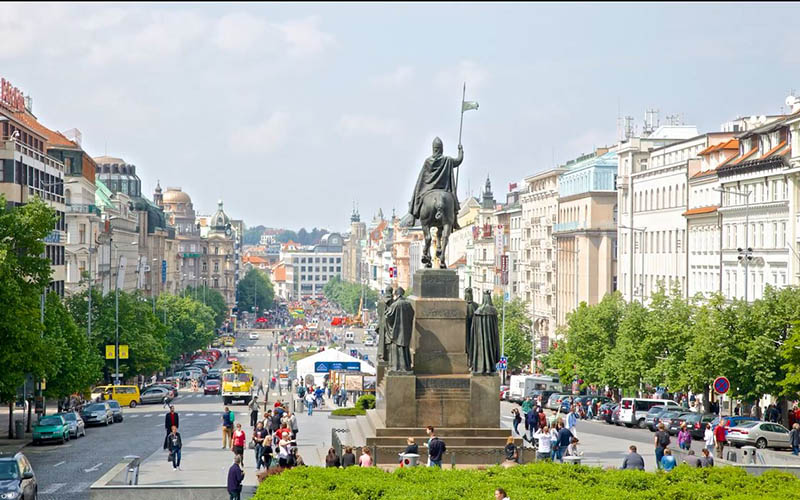 Czech Republic - Wenceslas Square 3